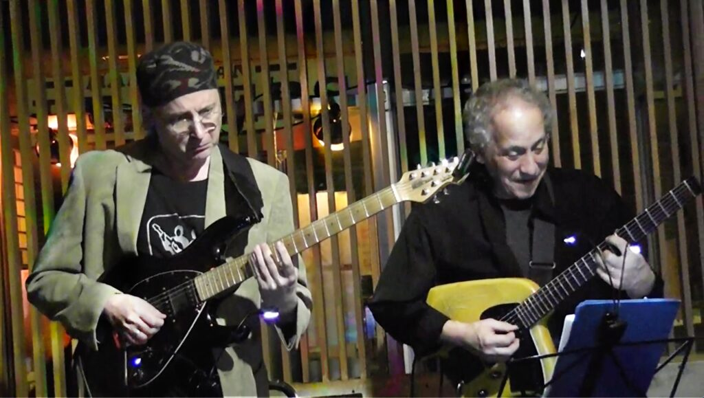 Kenny Wessel and Bruce Arnold at Quinns in Beacon New York
