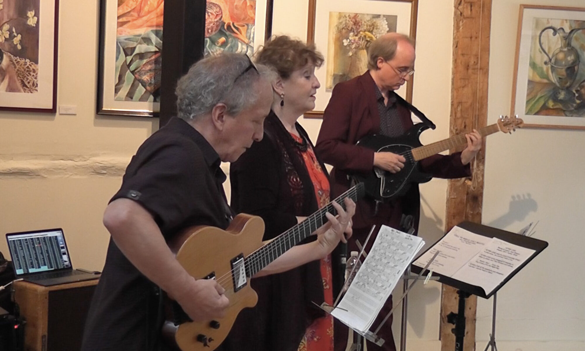 judi Silvano Zephyr band with Bruce Arnold Kenny Wessel Videos filmed by Michal Shapiro
